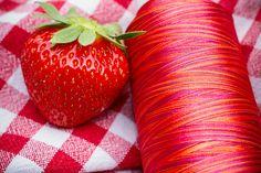 Fresh picked Fantastico variegated machine quilting thread from Superior Threads