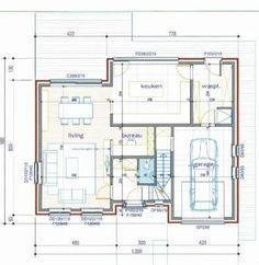 pastorijwoning badkamers - Google zoeken Home Reno, Tiny Houses, House Plans, Floor Plans, Indoor, Homes, Flooring, How To Plan, Deco