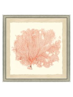 Sea Fan II (Framed Giclee) from Metallic Art & Rugs on Gilt