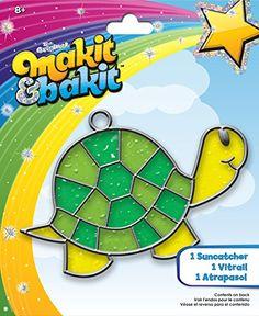 Colorbok TB-61816 Makit and Bakit Suncatcher Kit, Turtle >>> Find out more details @