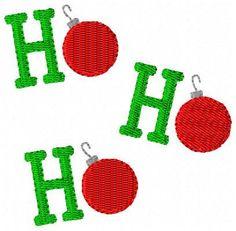 INSTANT DOWNLOAD Ho Ho Ho Christmas Machine Embroidery Design by JoyfulStitchesEtsy on Etsy https://www.etsy.com/listing/86516762/instant-download-ho-ho-ho-christmas
