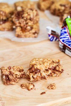 Snickers Rice Crispy Treats