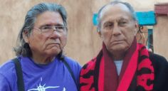 Dennis Banks with Russell Means 2012