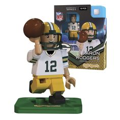 NFL Green Bay Packers Aaron Rodgers G3S3 OYO Mini Figure