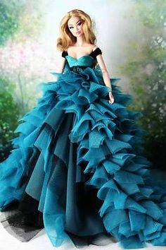 VENUS fr #66 Handmade Princess Laces Gown For Fashion Royalty