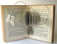 Book Art  Altered Book  Book Sculpture by MalenaValcarcel on Etsy, €63.00