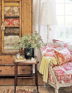 Charles Faudree Country French | vignette design: Hometalk Styles: French Country