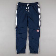 Adidas Premiere Sweatpants - Navy / White / Sun Glow