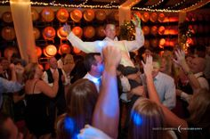 Chair dancing!   One of the better traditions for grooms.  Plan your wedding at Chateau Julien!  http://www.chateaujulien.com/meeting-events-venues/planning-your-event
