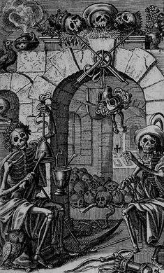 Eberhard Kieser, Icones Mortis Sexaginta Imaginibus, 1648