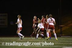 GIRLS SOCCER Fleetwood Tigers vs Wilson Bulldogs in a BCIAA semifinal at Don Thomas Stadium, Reiffton. Photo by Jeremy Drey 10/18/2016