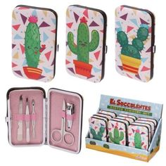 Shop today for Funky Manicure Set - Cactus Design by weeabootique !