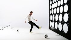 david beckham plays beethoven with soccer balls