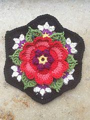 Ravelry: MarenGlitzer's Frida's Flower Blanket
