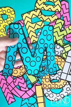 Printable Bulletin Board Letters - Fushion News Team Bulletin Board, Counselor Bulletin Boards, Hallway Bulletin Boards, Writing Bulletin Boards, Elementary Bulletin Boards, Science Bulletin Boards, Kindergarten Bulletin Boards, Interactive Bulletin Boards, Back To School Bulletin Boards