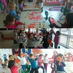 Birbirinden eğlenceli aktivitelerle dolu ingilizce dersimiz...