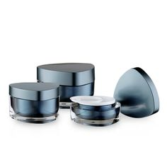 J18 Triangular Acrylic Jars