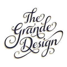 THE GRANDE DESIGN by Gordon Montgomery, via Behance