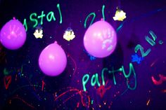 How to throw the best black light party around. #partyideas #parties #blacklight #neon