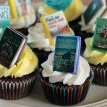 Bibliotek cupcakes