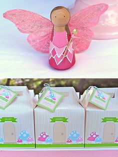Woodland Fairy Peg Doll | Craft That Party