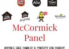 McCormick Canada Free Samples