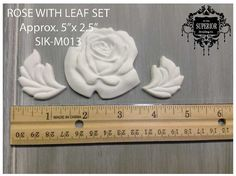 Superior Moulding Co. Resin Canadian Made ROSE by SuperiorPaintCo