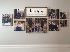 Ideas home sweet hom canvas hallways Family Pictures On Wall, Living Room Canvas Pictures, Picture Wall Living Room, Hallway Pictures, Display Family Photos, Home Living Room, Living Room Decor, Photowall Ideas, Family Wall Decor
