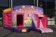 Jump en slide prinses | Jero-rent