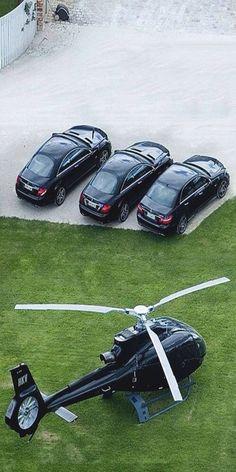 #luxury travel - always a chopper available - #Luxurydotcom