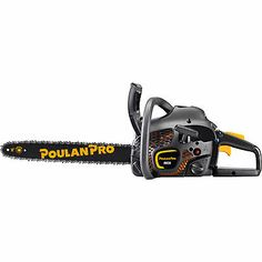 Poulan Gas Chainsaw at Lowe's. Powered by a gas engine, the Poulan Pro chainsaw is equipped with a 16 in. steel bar and chain. Lightweight and perfect for cutting Petrol Chainsaw, Gas Chainsaw, Chainsaw Case, Granberg Chainsaw Mill, Garden Power Tools, Ready To Rumble, Tree Felling, Gear Drive, Start Ups