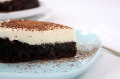 Tarta de chocolate con frosting de mascarpone