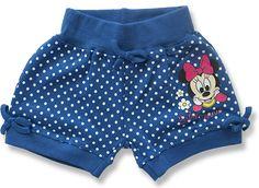 Kojenecké krátke nohavice - Minnie http://www.milinko-oblecenie.sk/spodny-diel-pre-babatka/strana-2/ #kojeneckeoblecenie #oblecenieprebabatka #disneyobleceni
