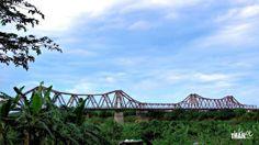 Long Bien Bridge, Hanoi City, Vietnam