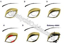 """Azjatycki Cukier: Makijaż dający efekt """"circle lens"""""""