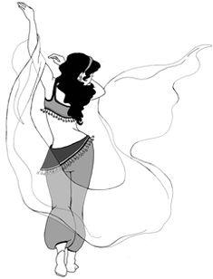 veil dance!