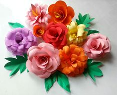 15 projects you can make with paper crafts pinterest diy paper diy paper flowers folding tricks mightylinksfo
