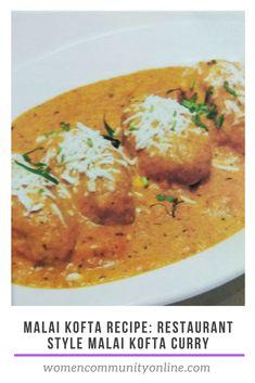 Malai Kofta Recipe: Restaurant Style Malai Kofta Curry #malaikoftarecipe #malaikofta #malaikoftacurry #Recipe #cottagecheese #dumplings #paneer #gravy