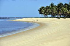 Praia do Gunga, Maceió, Alagoas