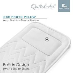 Luxury Bath Cushing Designed for Full Body Comfort ONLY $47.95 – Bath Haven