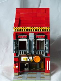 Straits Chinese Shop House: A LEGO® creation by Roy Yap