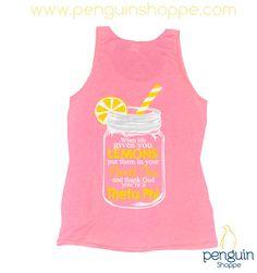 Theta Phi Alpha Custom Chapter Order for adorable pink unisex mason jar tan tops!! So cute for Bid Day, Recruitment, or a summer sisterhood event!