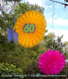Decoraci n fiesta 60 a os mujer otros pinterest for Fiesta 60 anos decoracion