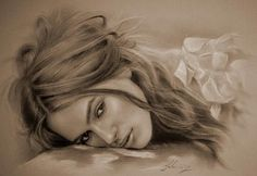 Keira2 - Pencil Sketches by Krzysztof Lukasiewicz <3 <3