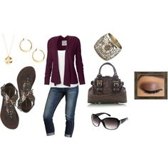 """Running Errands"" by deborah-simmons on Polyvore"