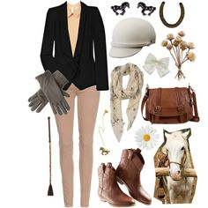 """""""Hermes"""" by nataliecheung on Polyvore Equestrian Style"""