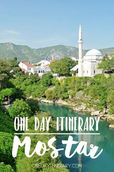 Mostar One day itinerary - Top things to do in Mostar, Bosnia and Herzegovina Montenegro, Europe Travel Guide, Travel Destinations, Cool Places To Visit, Places To Go, Europe Places, Les Balkans, Mostar Bosnia, Amazing Sunsets