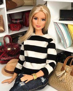 Doll Clothes Barbie, Dress Up Dolls, Barbie Life, Barbie World, Muñeca Diy, Barbie Summer, Barbie Fashionista Dolls, Barbie Family, Barbie Model