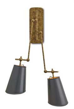 Living room library sconce - Wall Sconces, Modern Sconces | Currey and Company