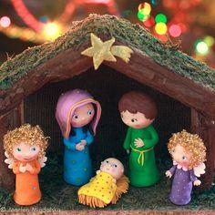 MARLOU B.: Christmas Crib